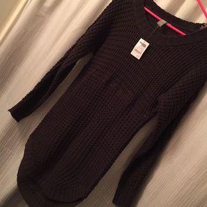 Charlotte Russe tunic sweater